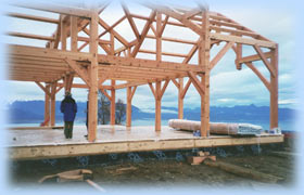Alaska Timberframe - Post & Beam homes, Timber Frame structures