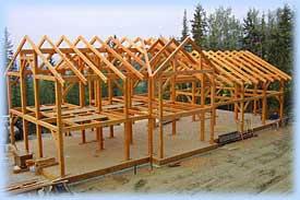 Alaska Timberframes in Homer Alaska offers timber frames